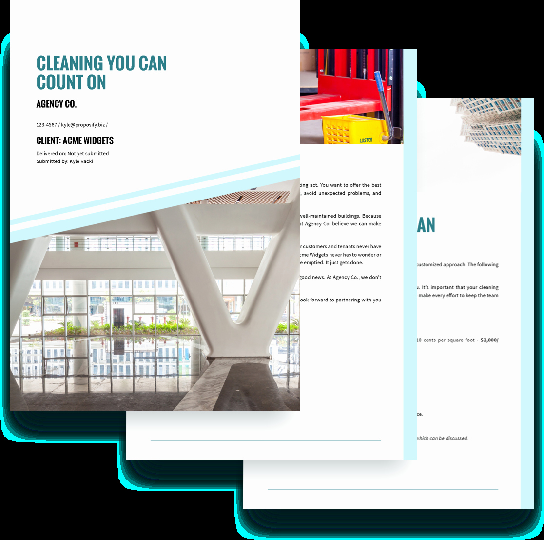 Commercial Cleaning Proposal Template Free Luxury Cleaning Services Proposal Template Free Sample