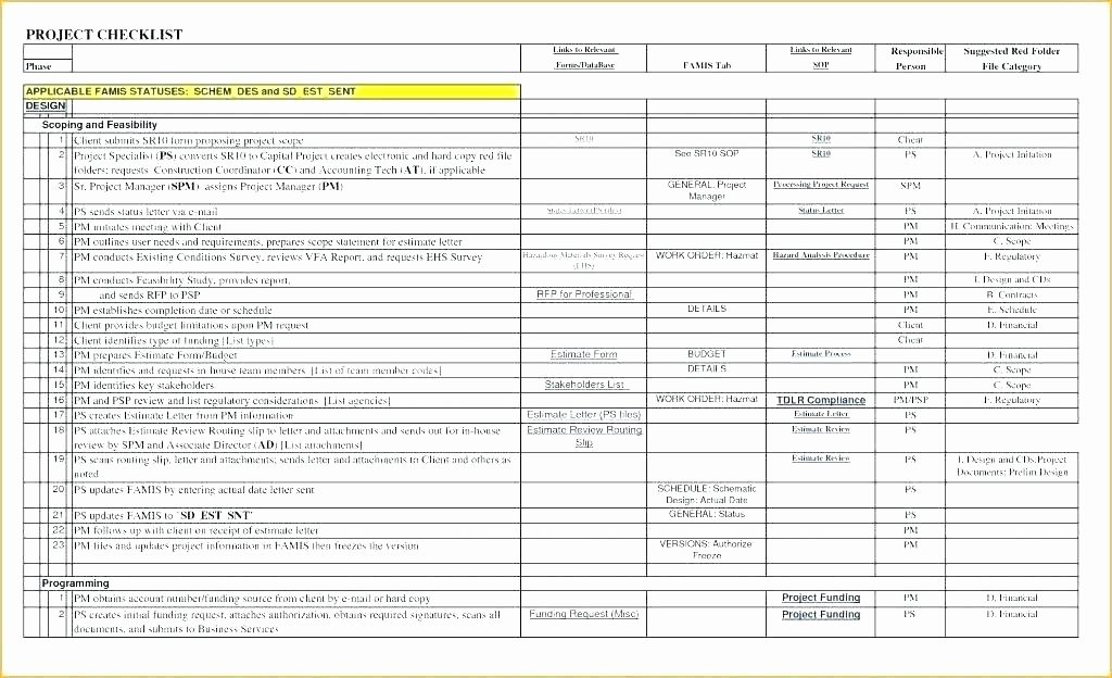 Commercial Construction Punch List Template Unique New Construction Punch List Free Template Project
