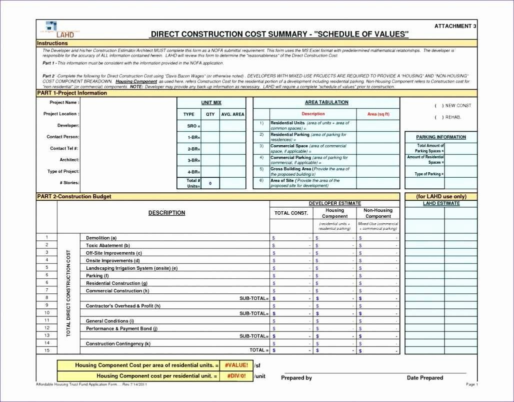 Commercial Construction Schedule Template Best Of Mercial Construction Draw Schedule Template Elegant