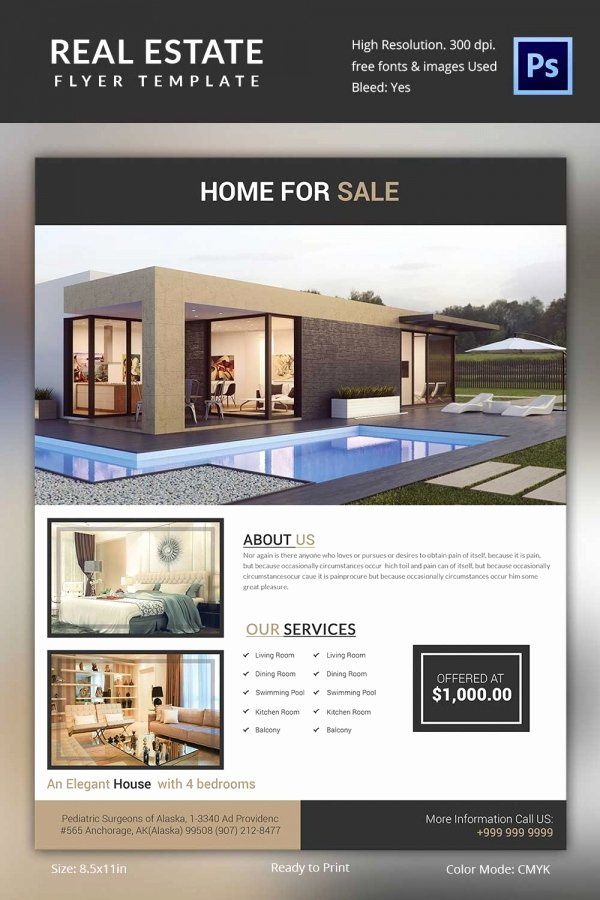 Commercial Real Estate Flyer Template Awesome Real Estate Flyer Template 37 Free Psd Ai Vector Eps