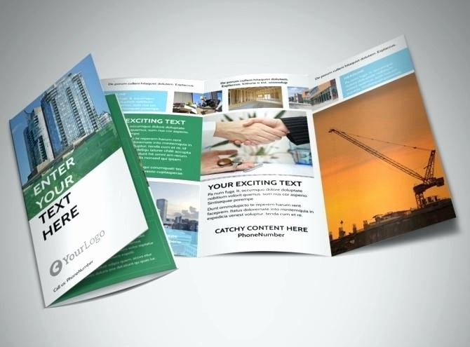 Commercial Real Estate Flyer Template Best Of Brochure Making Template for Free Background Design