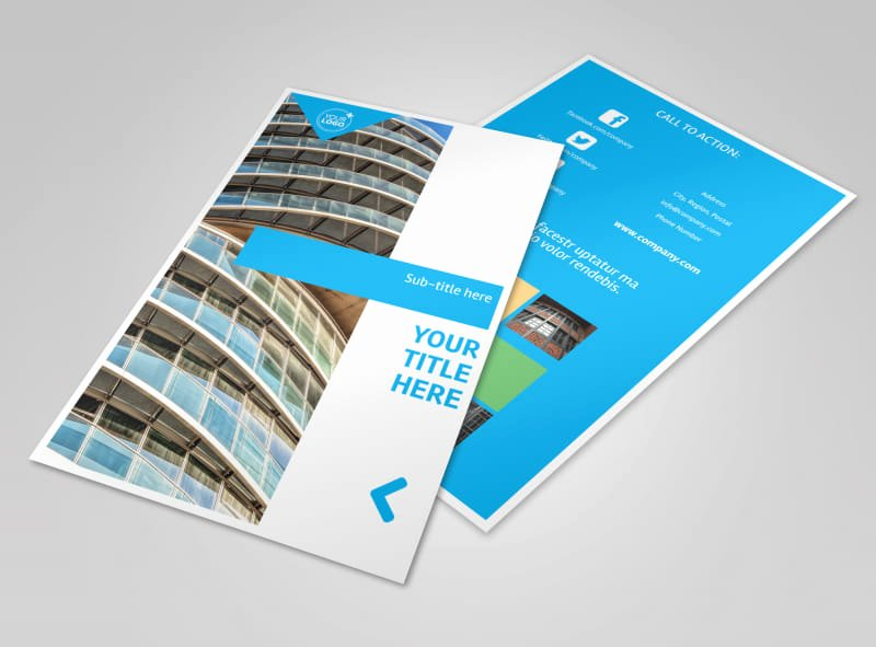 Commercial Real Estate Flyer Template Best Of Mercial Real Estate Property Flyer Template