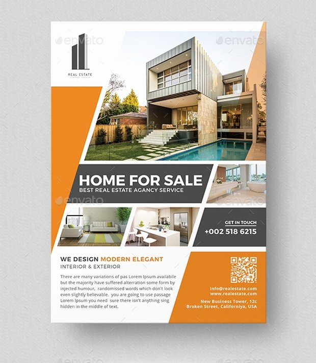Commercial Real Estate Flyer Template Elegant 21 Real Estate Flyer Designs Psd Download