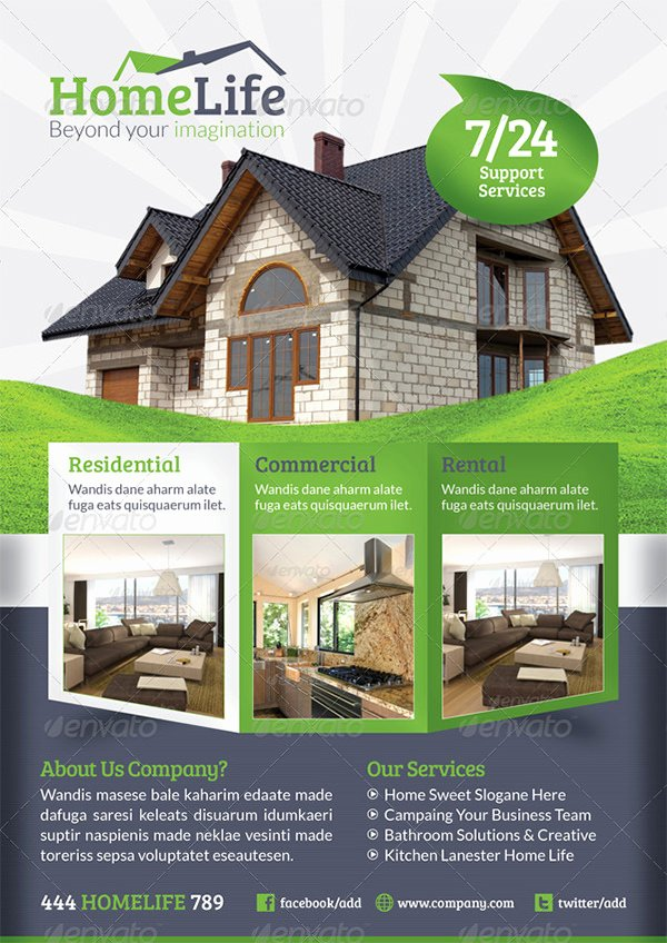 Commercial Real Estate Flyer Template Inspirational Real Estate Flyer Template – 52 Free Psd Ai Vector Eps