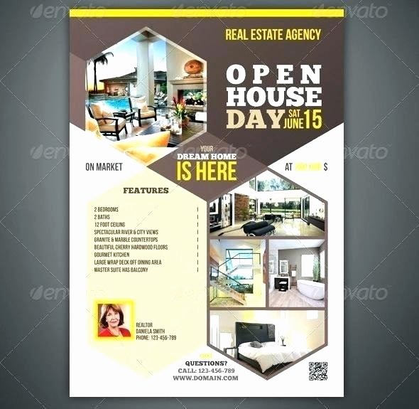 Commercial Real Estate Flyer Template Luxury Mercial Real Estate Brochure Template Marketing