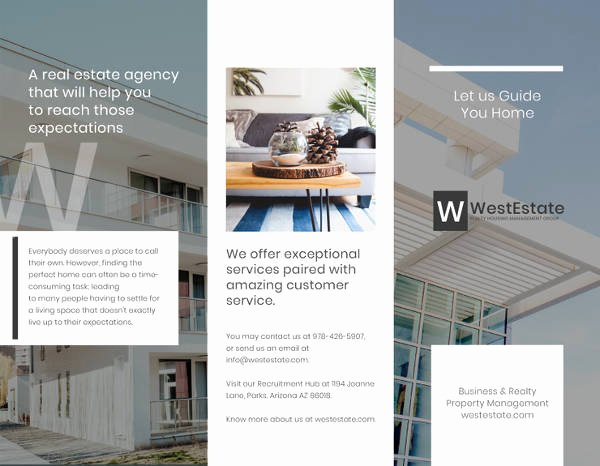 Commercial Real Estate Flyer Template Unique 10 Corporate Real Estate Brochures Design Templates