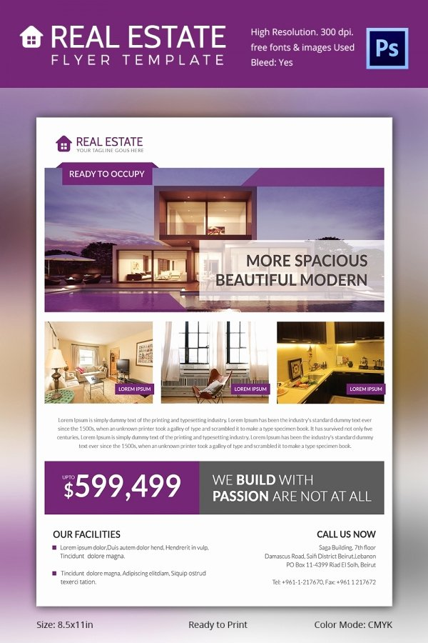 Commercial Real Estate Flyer Template Unique Real Estate Flyer Template 37 Free Psd Ai Vector Eps