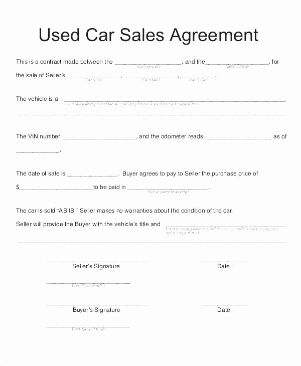 Commission Sales Agreement Template Free New Contract Template Free Word Templates Sale Mission