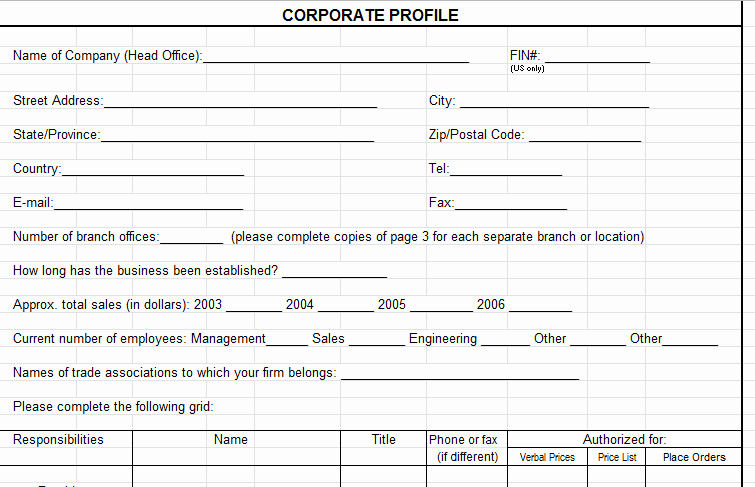 Company Info Sheet Template Fresh Vendor Evaluation form Supplier Scorecard