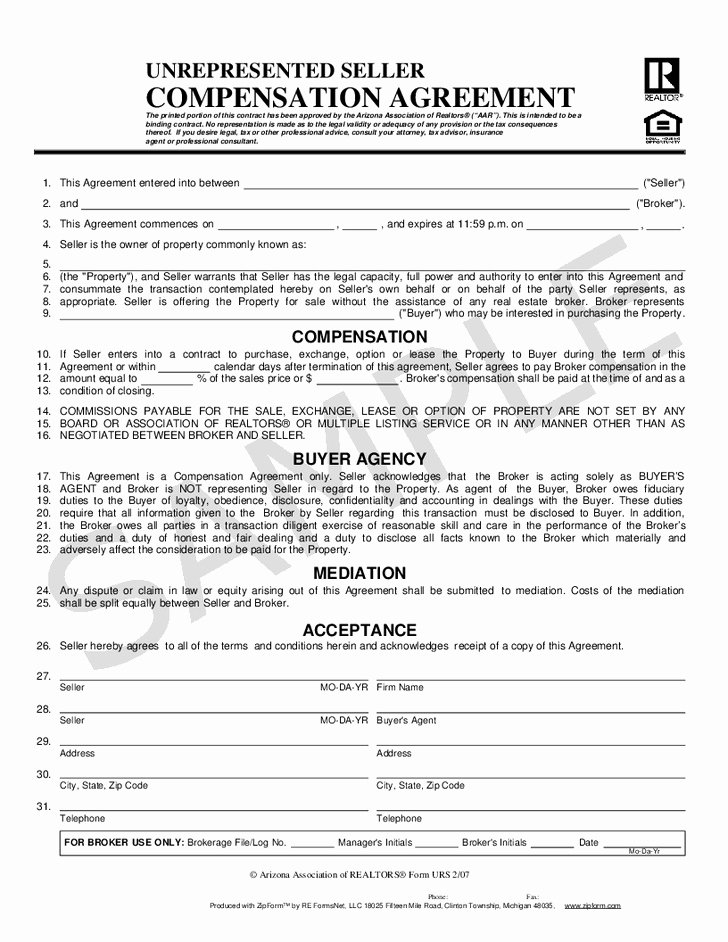 Compensation Agreement Template Free Fresh Equity Pensation Agreement Template original