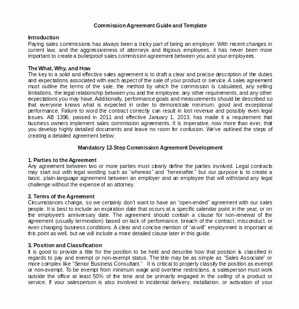 Compensation Agreement Template Free Luxury Mission Plan Template Plan Sample Examples Sales