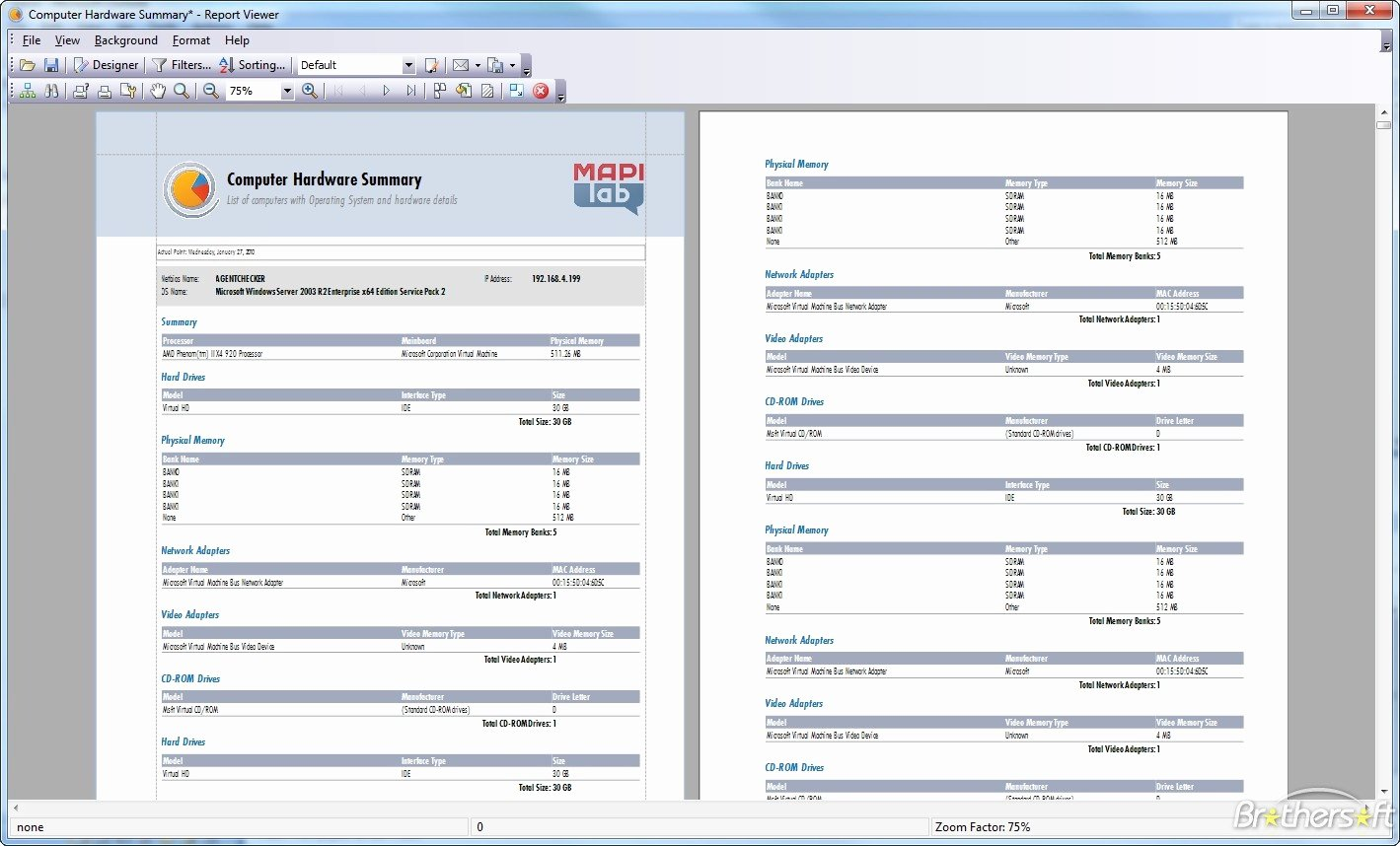 Computer Hardware Inventory Excel Template Awesome Download Free Mapilab Reports for Hardware and software