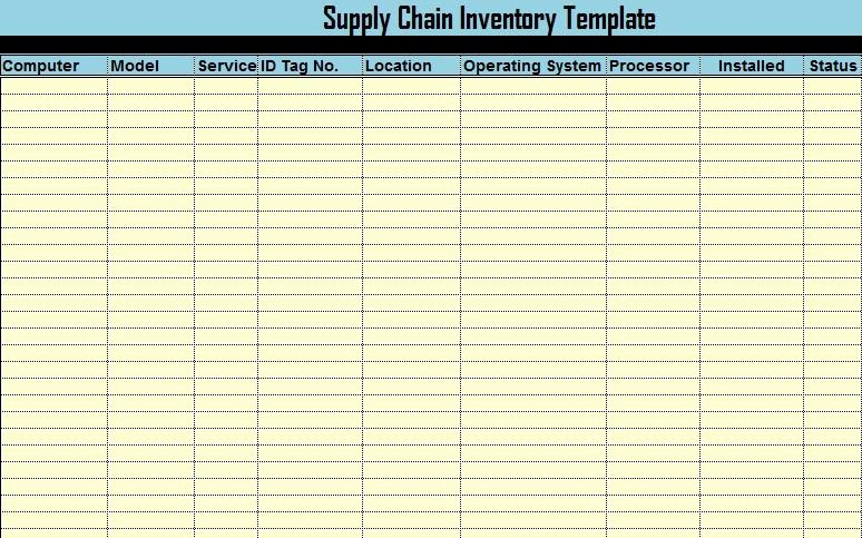 Computer Hardware Inventory Excel Template Inspirational Download Puter Inventory Templates In Excel Excel