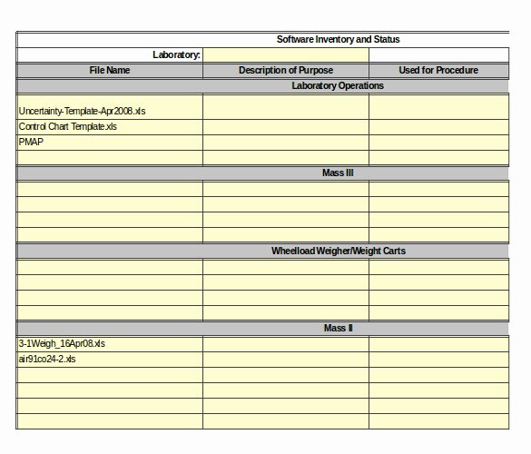 Computer Inventory Excel Template Awesome Server Inventory Template – 13 Free Excel Pdf Documents