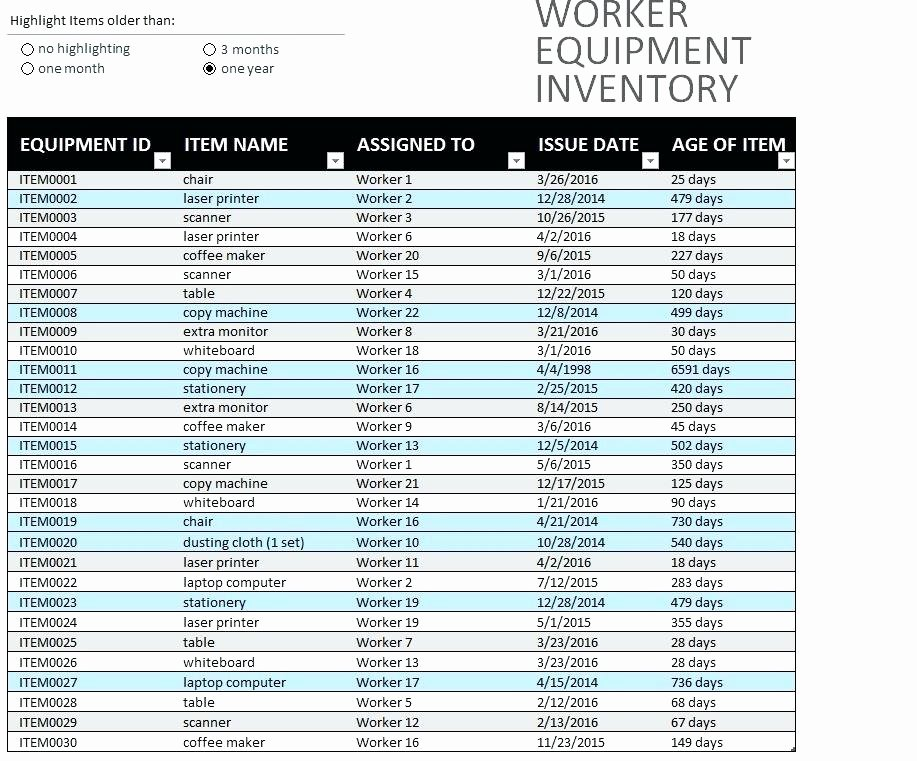 Computer Inventory Excel Template New Puter Equipment Inventory Template Free Download In