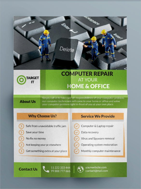 Computer Repair Flyer Template Awesome 26 Best Puter Repair Flyer Templates