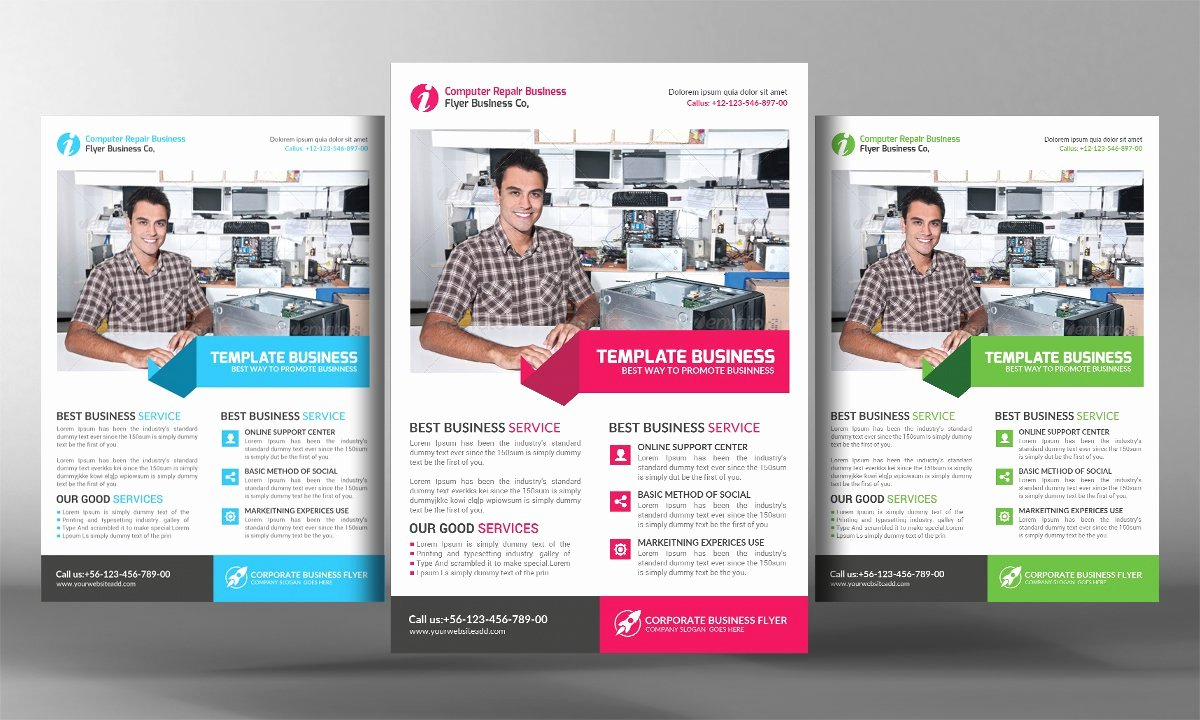 Computer Repair Flyer Template Fresh Puter Repair Flyer Template Flyer Templates