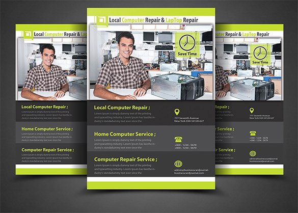 Computer Repair Flyer Template Lovely 25 Puter Repair Flyer Templates Psd Ai Eps format