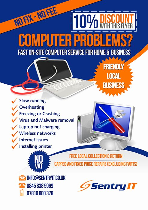 Computer Repair Flyer Template Lovely Blog Archives Ohiomedia