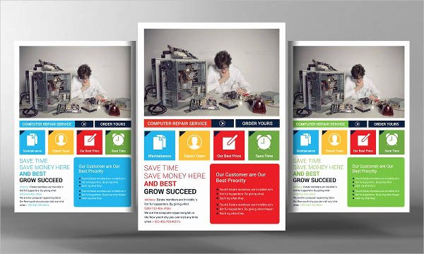 Computer Repair Flyer Template Luxury Puter Repair Flyers 15 Free Psd Vector Ai Eps