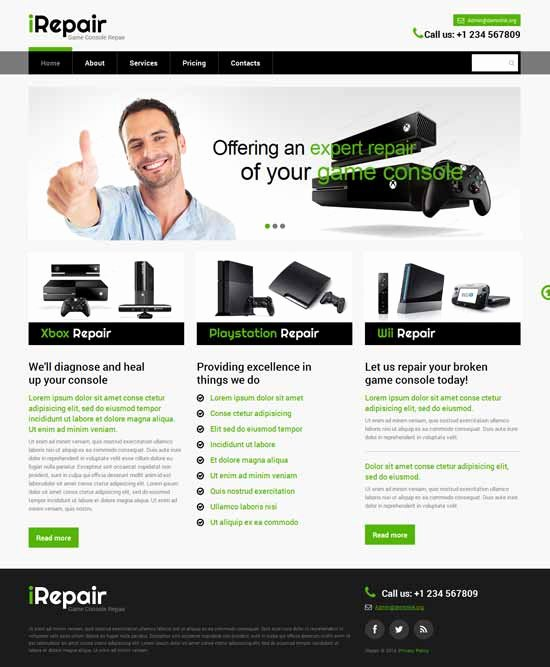 Computer Repair Website Template Luxury 20 Best It Pany Website Templates 2018 Freshdesignweb