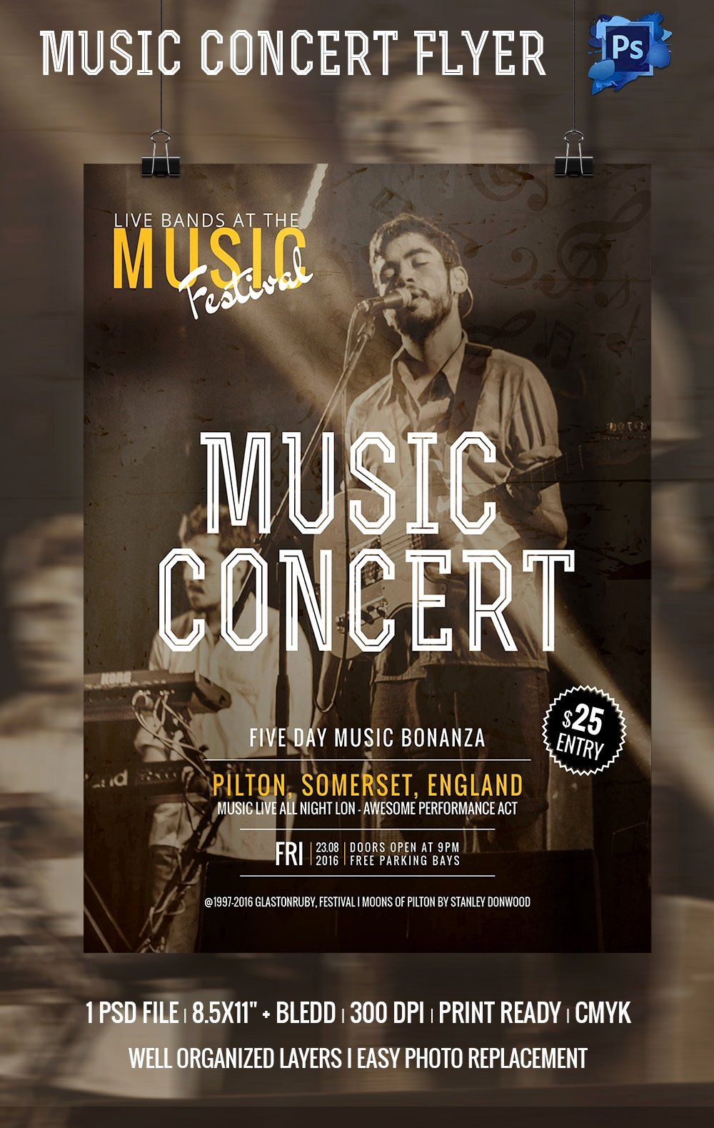 Concert Flyer Template Psd Beautiful Concert Flyer Template 35 Psd format Download