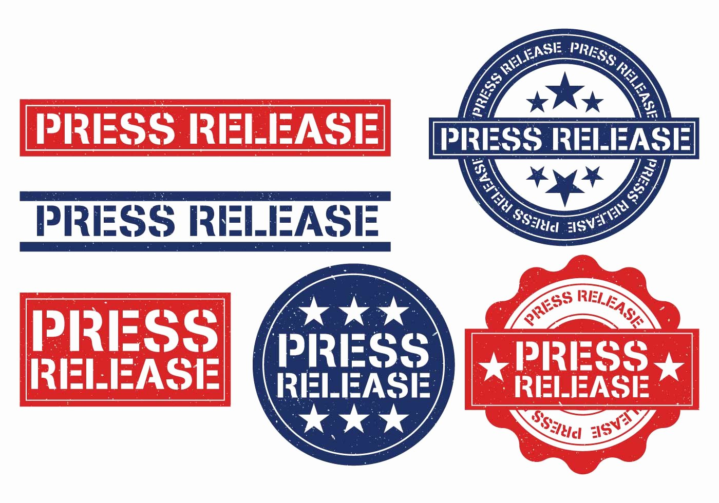 Concert Press Release Template Awesome Press Release Stamp Vector Download Free Vector Art