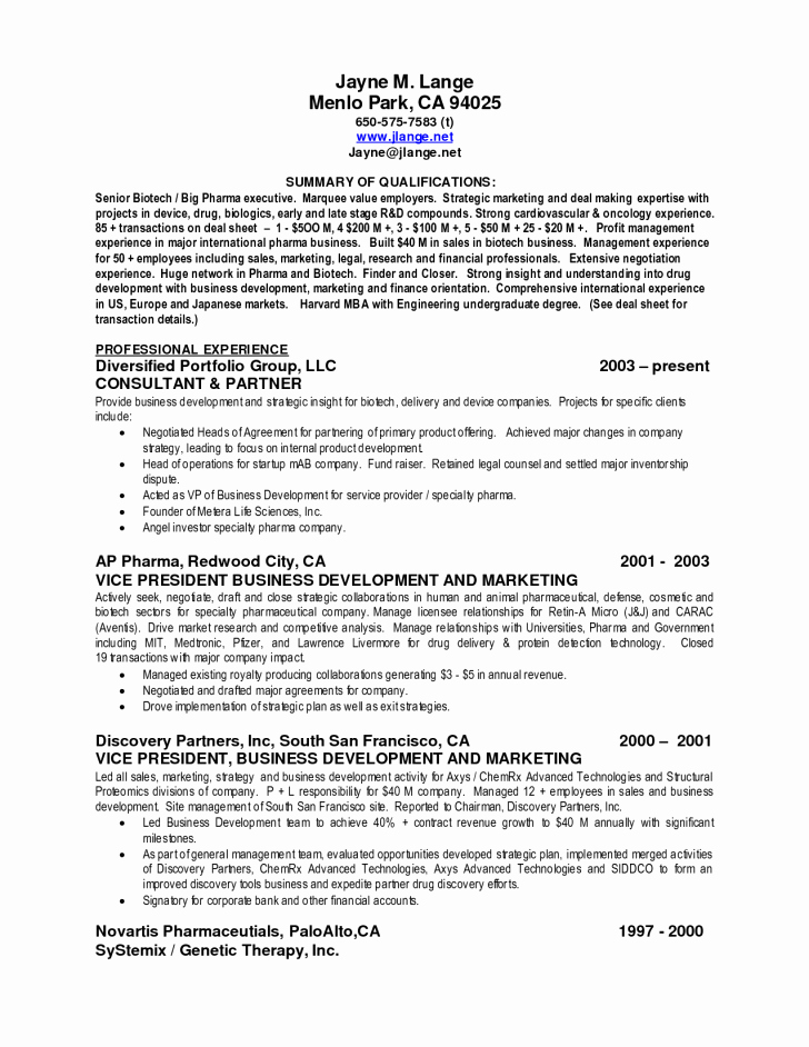 Concert Press Release Template Lovely Template Summary Qualifications Template