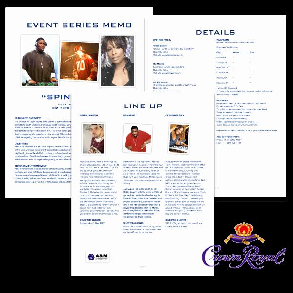Concert Press Release Template Luxury Sponsorship Proposal