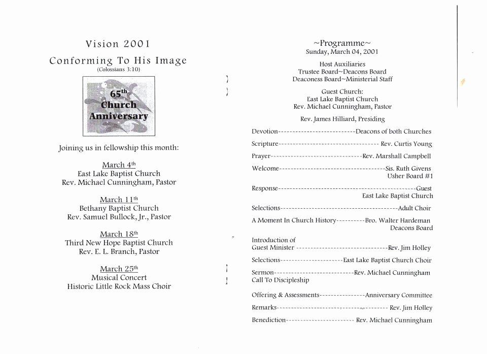 Concert Program Template Free Best Of Church Concert Program Template Sample Church Program