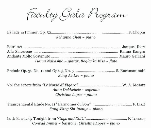 Concert Program Template Free Best Of Classical Concert Program Template Beautiful Template