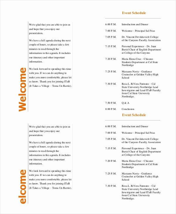 Concert Program Template Free Fresh 37 Sample event Program Templates Psd Ai