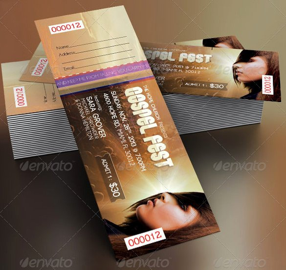 Concert Ticket Template Psd Beautiful 115 Ticket Templates Word Excel Pdf Psd Eps