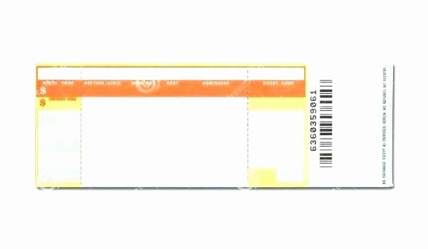 Concert Ticket Template Psd Best Of Concert Ticket Template Free Word Fake Gig