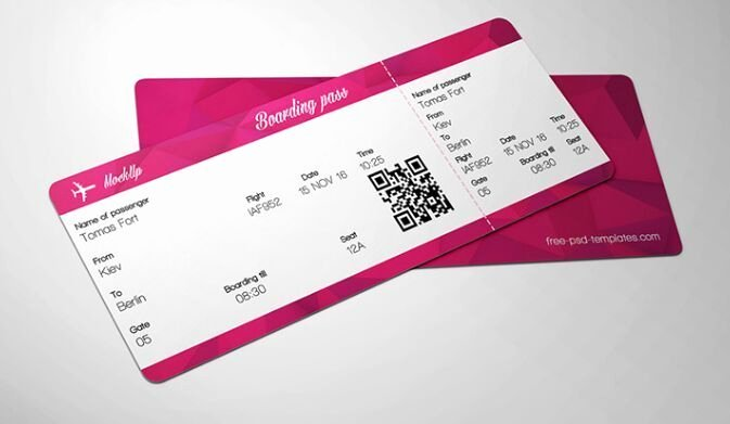 Concert Ticket Template Psd Elegant 10 Full Free Ticket Mock Ups Psd for Branding & Graphic