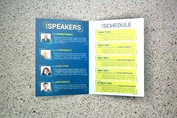 Conference Program Booklet Template Awesome Conference Program Booklet Template Funeral Mass Program
