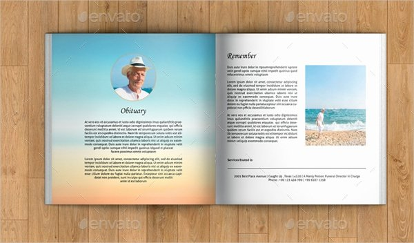 Conference Program Booklet Template Best Of 20 Funeral Booklet Templates Free Psd Ai Vector Eps