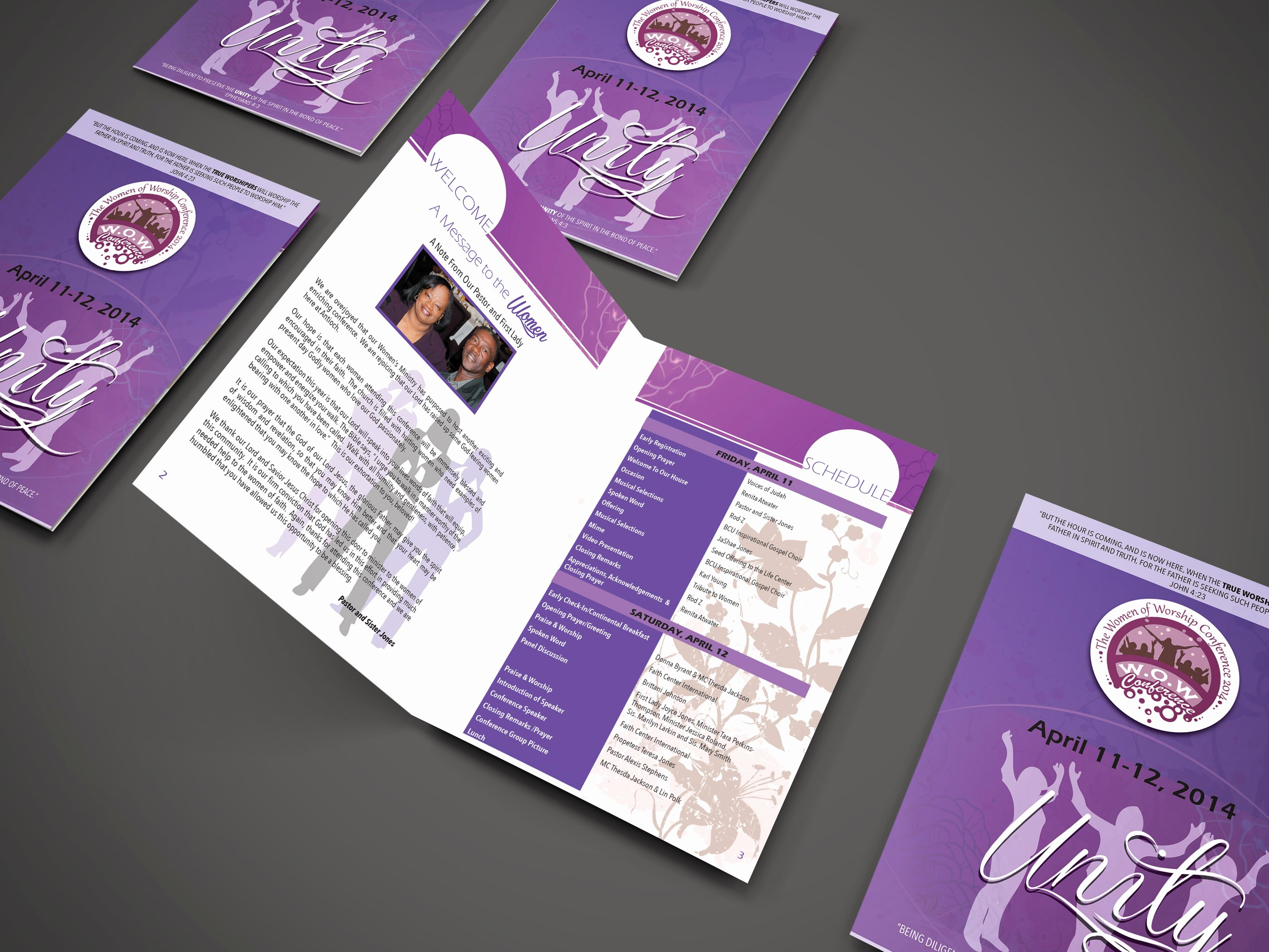 Conference Program Booklet Template Fresh Wow Women S Conference 2014 Program