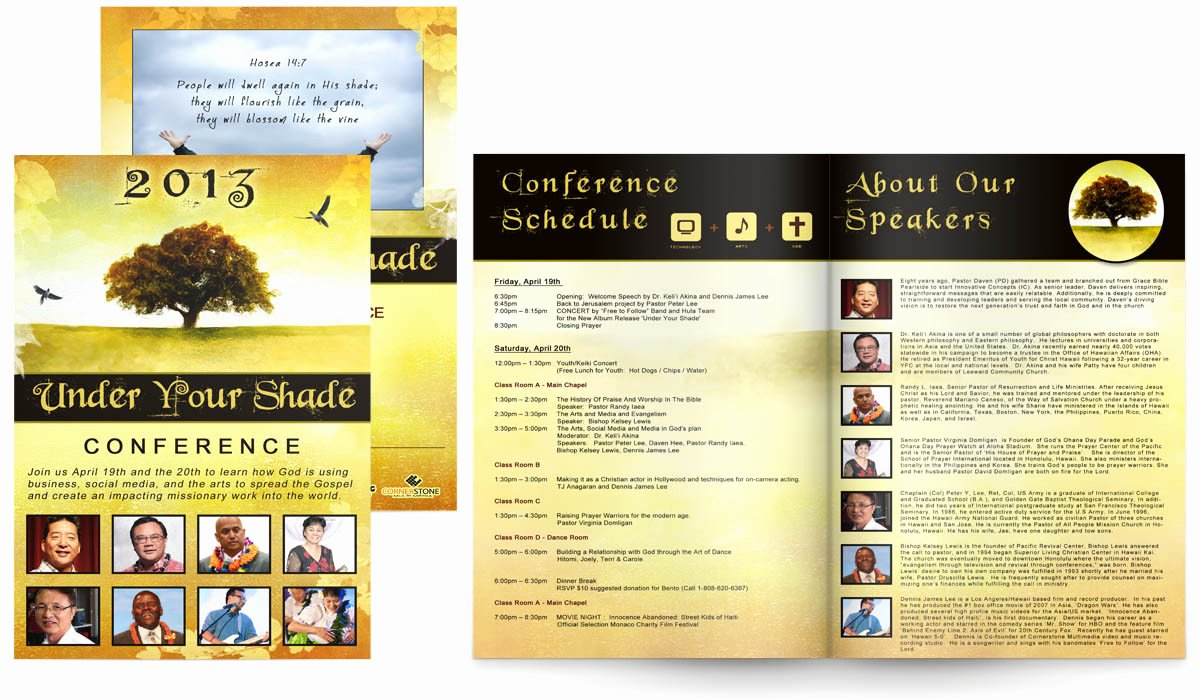 Conference Program Booklet Template Lovely the Gallery for Conference Program Booklet Template – soohongp