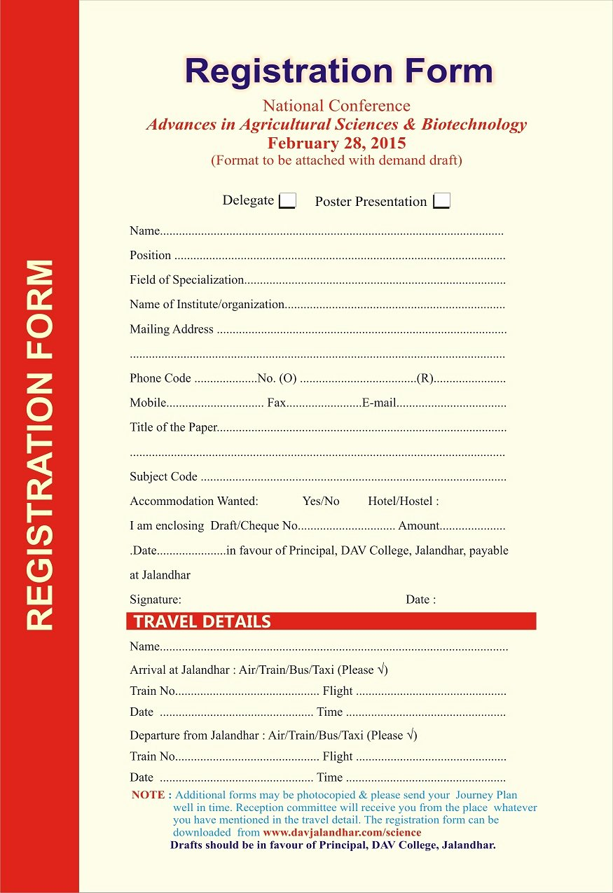 Conference Registration form Template Word Inspirational Volunteer Application Volunteer Registration