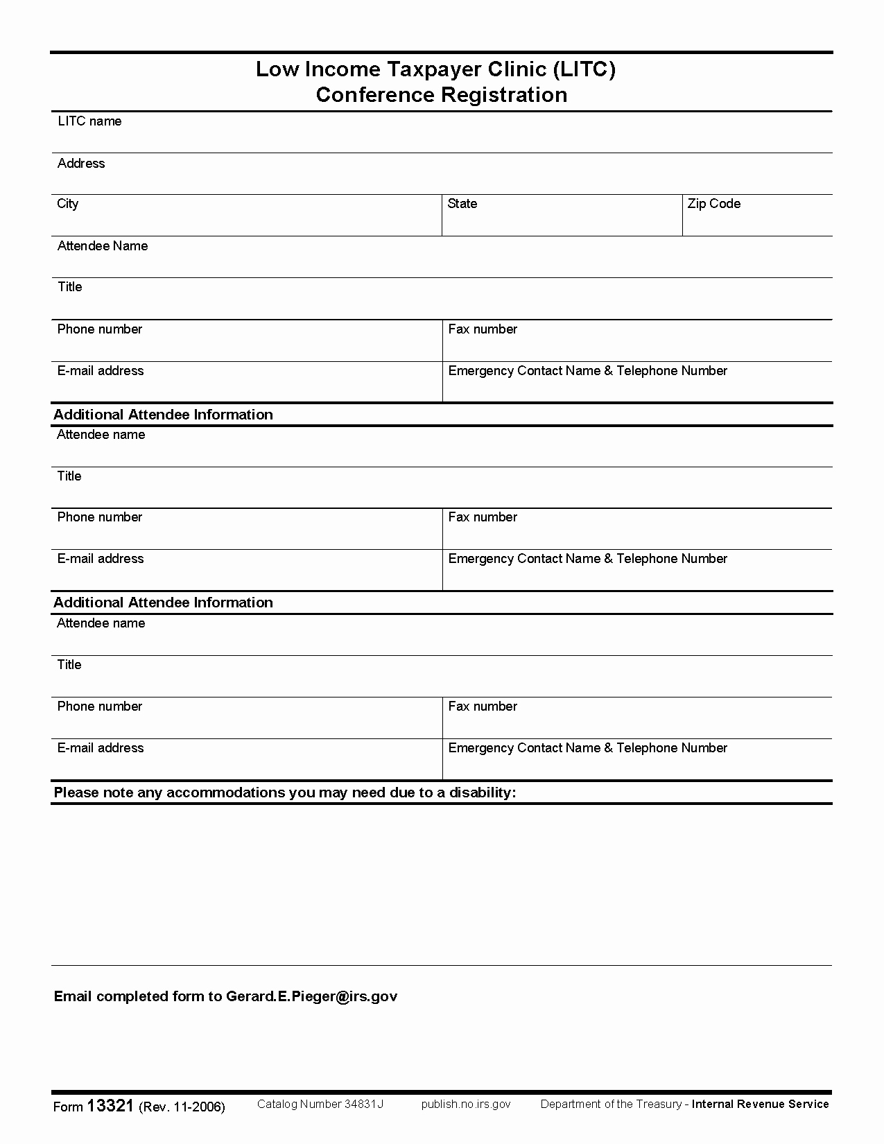 Conference Registration forms Template Awesome Conference Registration form Template