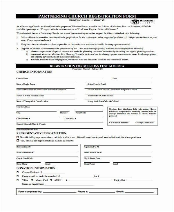Conference Registration forms Template Elegant 23 Conference Registration form Templates