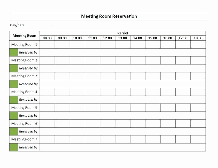 Conference Room Scheduling Template Beautiful Point Blog Example Meeting Room Booking form Template New