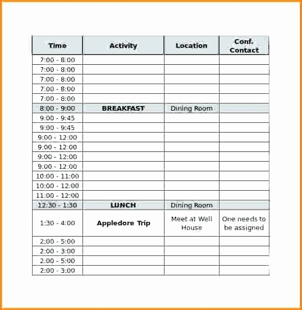 Conference Room Scheduling Template Elegant Room Schedule Template Meeting Room Schedule Template