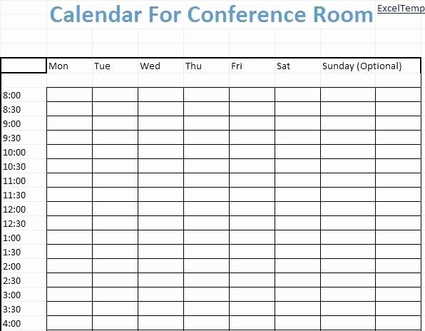 Conference Room Scheduling Template Luxury Availability Schedule Template Excel – Jewishhistoryfo