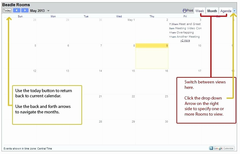 Conference Room Scheduling Template Unique Conference Room Calendar Template Meeting Schedule Excel