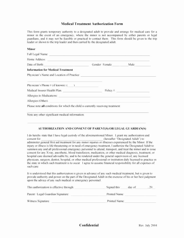 Consent to Treat form Template Awesome Consent for Treatment Template form Physiotherapy Free
