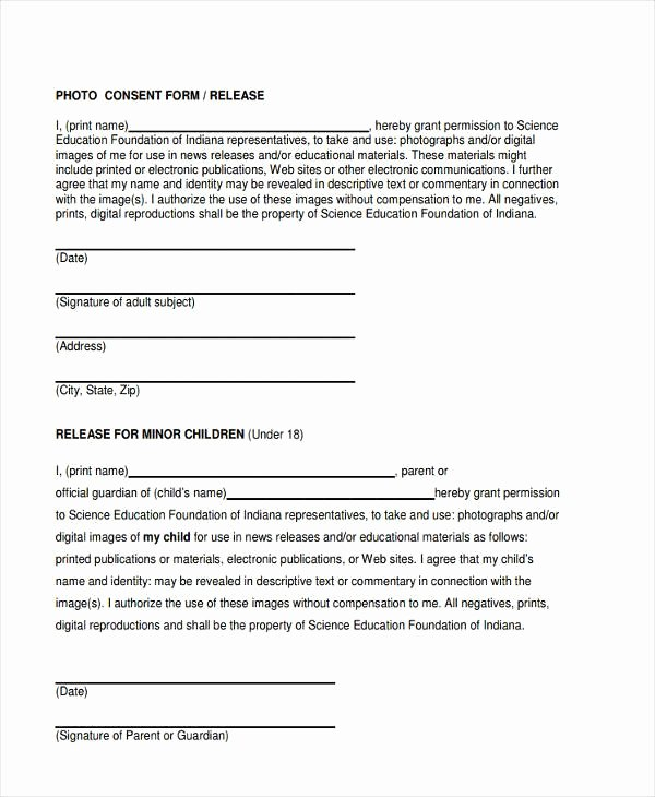 Consent to Treat form Template Lovely Permission to Treat form Template – Versatolelive