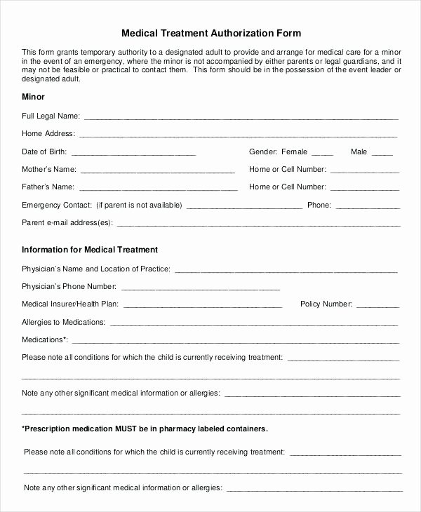 Consent to Treat form Template Luxury Consent for Treatment Template form Physiotherapy Sample