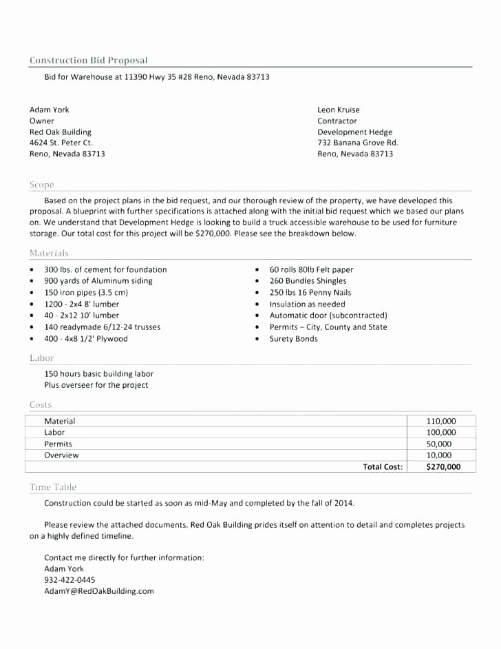 you job a contract bid template contractor can use this to janitorial forms free construction excel proposal